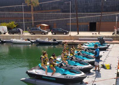 Eventos motos de agua barceloan