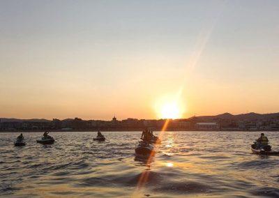Best sunset ever in Jet Ski