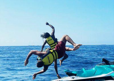 Jet ski day promocion de moto de agua