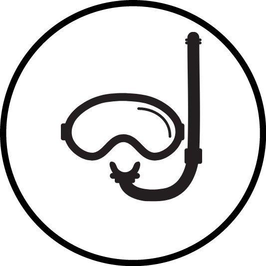 Icono gafas Snorkel
