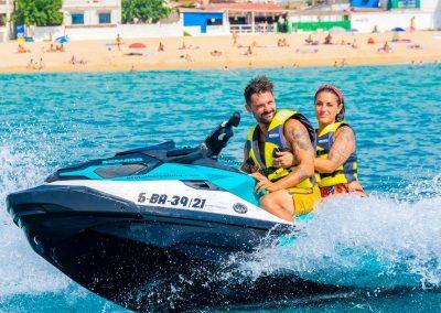 Alquiler de moto acuática Sea-Doo en Barcelona